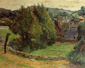 Landscape at Pont-Aven