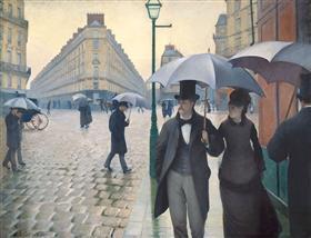 Paris, a Rainy Day