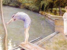 The Bather, or The Diver