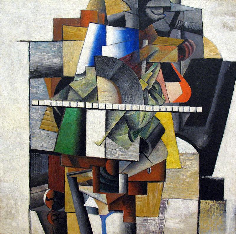 Portrait von Mikhail Matjuschin anagoria