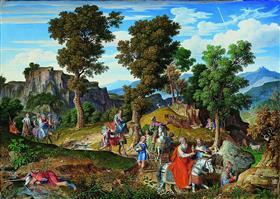 Serpentara Landscape by Joseph Anton Koch