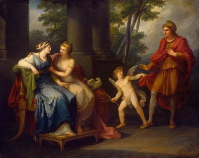 Venus Induces Helen to Fall in Love with Paris