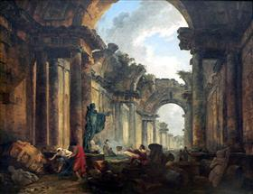 Imaginary View of the Grand Gallery
