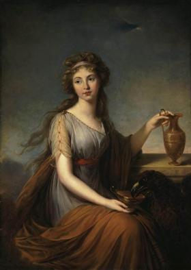 Portrait of Anna Pitt as Hebe