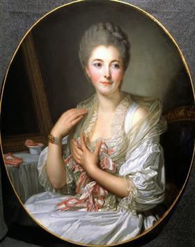 Portrait of Madame Courcelles