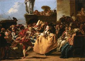 The Minuet or Carnival Scene