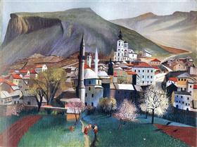 Springtime in Mostar