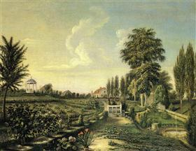 View of the Garden at Belfield
