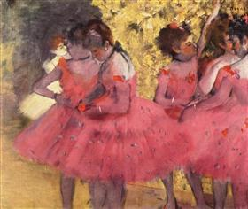The Pink Dancers, Before the Ballet
