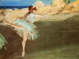 The Star - Dancer on Pointe