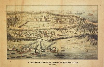 MIL-118 Burnside expedition, Roanoke Island