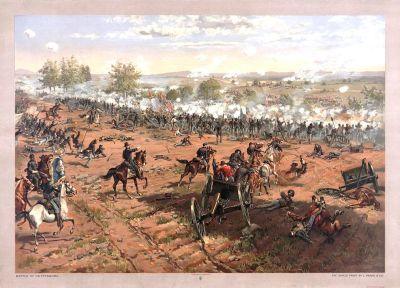 MIL-133 Battle of Gettysburg c.1887