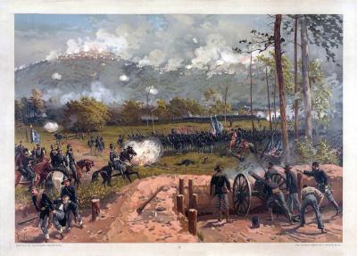 MIL-134 Battle of Kenesaw Mountain c.188