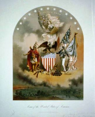 MIL-142 Arms of the United States of America c.1864