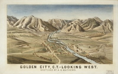 CO-103 Golden City c.1870