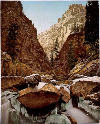 CO-128 Toltec Gorge c.1902