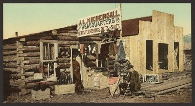 CO-137 Pioneer merchant c.1898