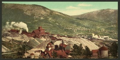 CO-146 Battle Mountain mines, Cripple Creek c.1900