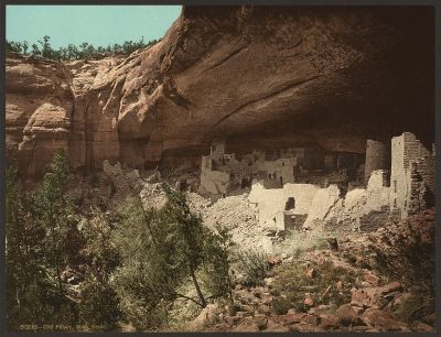 CO-149 Cliff Palace, Mesa Verde c.1898