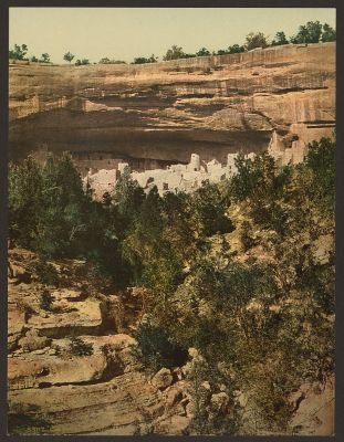 CO-150 Cliff Palace, Mesa Verde c.1898
