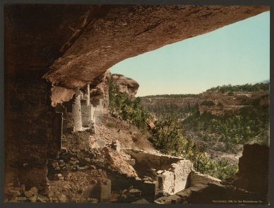 CO-151 Cliff Palace, Mesa Verde c.1898