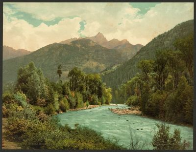 CO-154  Needle Mtns, Animas Cyn c.1901