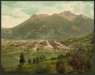 CO-155 Silverton and Sultan Mtn, c.1901