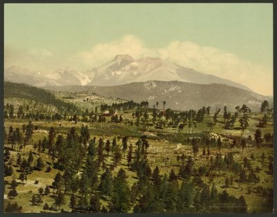CO-157 Long's Peak, Mont Alto, c.1901