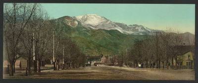 CO-159 Pikes Peak Ave c.1898