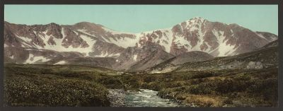 CO-161 Gray's and Torrey's Peaks c.1898