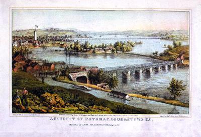 DC-109 Potomac, Georgetown c.1865