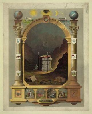 RA-120 Masonic chart