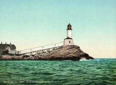 LH-106 White Island Light