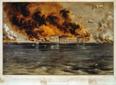 CW-113 Bombardment of Fort Sumter