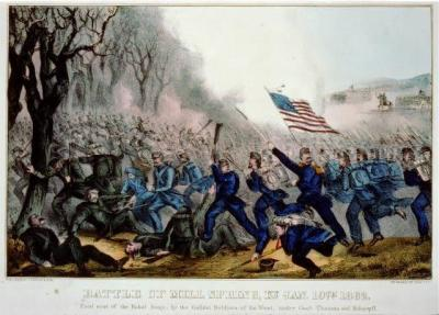 CW-123 Battle of Mill Spring, Ky. c.1862