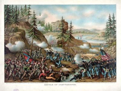 CW-156 Battle of Chattanooga c.1888