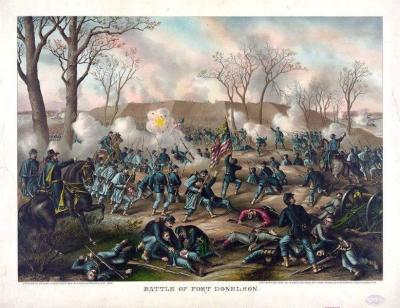 CW-159 Battle of Fort Donelson c.1887