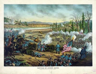 CW-165 Battle of Stone River c.1891