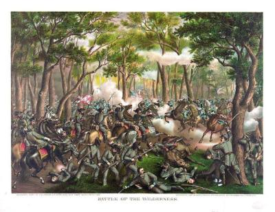 CW-166 Battle of the Wilderness  c.1887