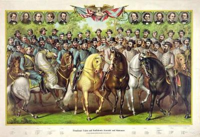 CW-170 Prominent Union and Confederate generals and statesmen
