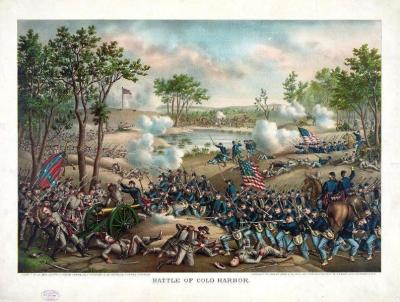 CW-172 Battle of Cold Harbor c.1888
