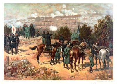 CW-185 Battle of Chattanooga c.1880