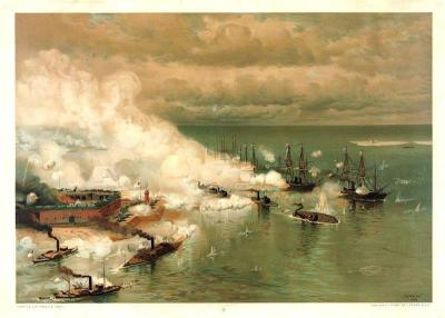 CW-188 Battle of Mobile Bay c.1886