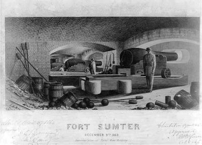 CW-217 Fort Sumter c.1863
