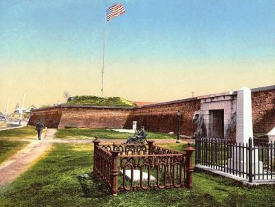 CW-228 Fort Moultrie, c.1900
