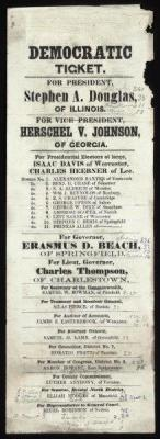 CW-271 Democratic ticket for President, c.1860
