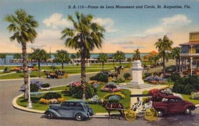 SA-127 Ponce de Leon monument
