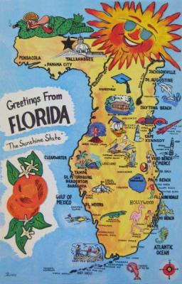 FL-134 Greetings from Florida