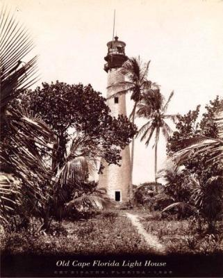 FL-181 Cape Lighthouse, Key Biscayne