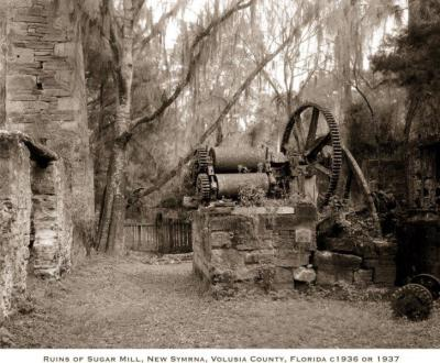 FL-207 Sugar Mill, New Smyrna
